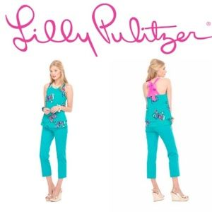 Lilly Pulitzer Butterfly Top